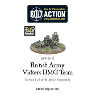Warlord WGB-BI-22 Bolt Action British Vickers MMG
