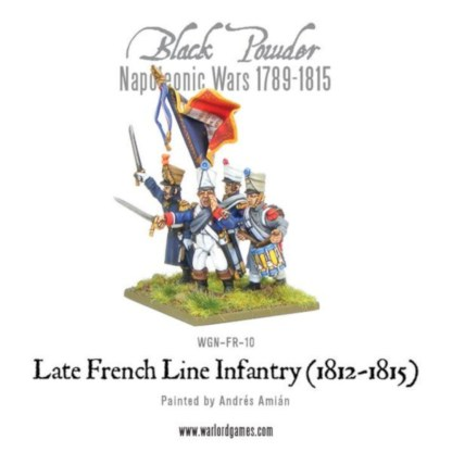 Warlord WGN-FR-10 Black Powder Late French Line Infantry
