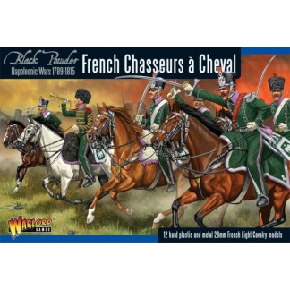 Warlord WGN-FR-12 Black Powder Fench Chasseurs a Cheval