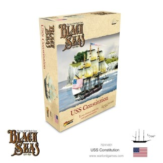 Warlord 792414001 Black Seas USS Constitution