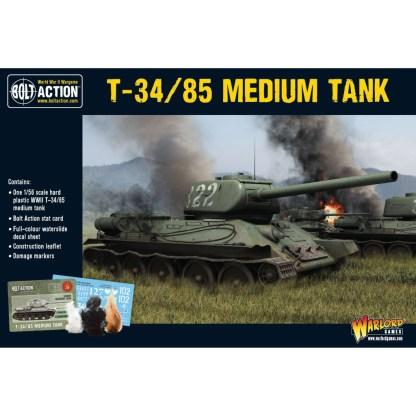 Warlord 402014004 T34-85 Soviet Medium Tank