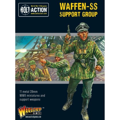 Warlord 402212107 German Waffen SS Support Group