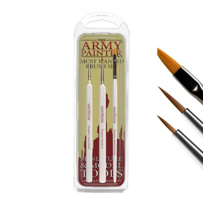 Army Painter TL5043 Most Wanted Paint Brush Set