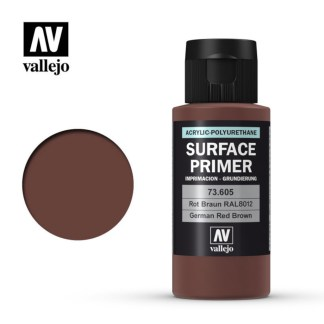 Vallejo 73 605 Surface Primer German Red Brown 60ml