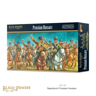 Warlord 302011802 Black Powder Prussian Hussars