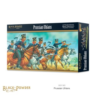 Warlord 302011803 Black Powder Prussian Uhlans