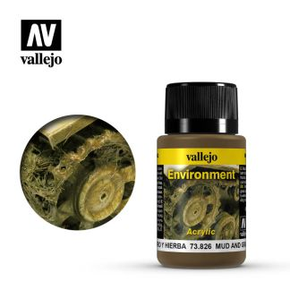 Vallejo 73826 Weathering Effects Mud and Grass 40ml