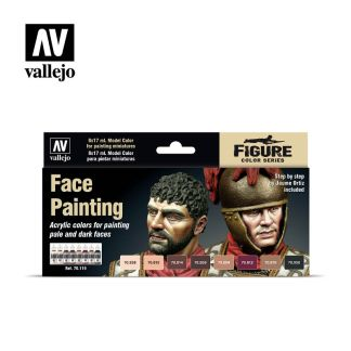 Vallejo Model Color 70119 Face Painting Set