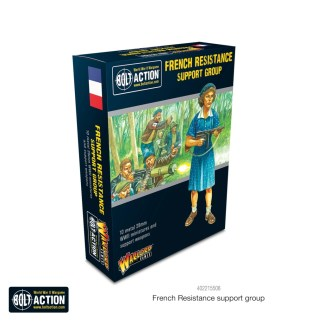 Warlord 402215508 Bolt Action French Resistance Support Group