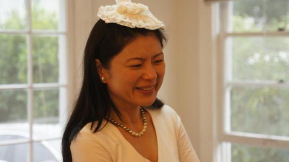 Hellen Chen smiling
