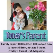 Hellen Chen Interview on Today's Parents USA