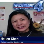 Hellen Chen, Family Expert and Marriage Authority, interview on KFOR News Channel 4