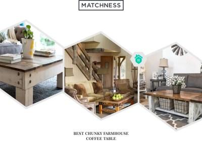 14. farmhouse coffee table