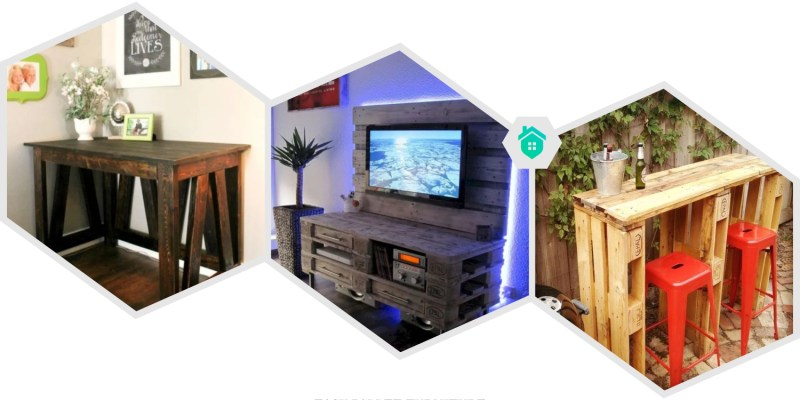 2. pallet furniture projects