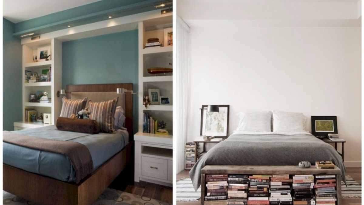 39 Stunning Bookshelves Ideas for Bedroom Decoration
