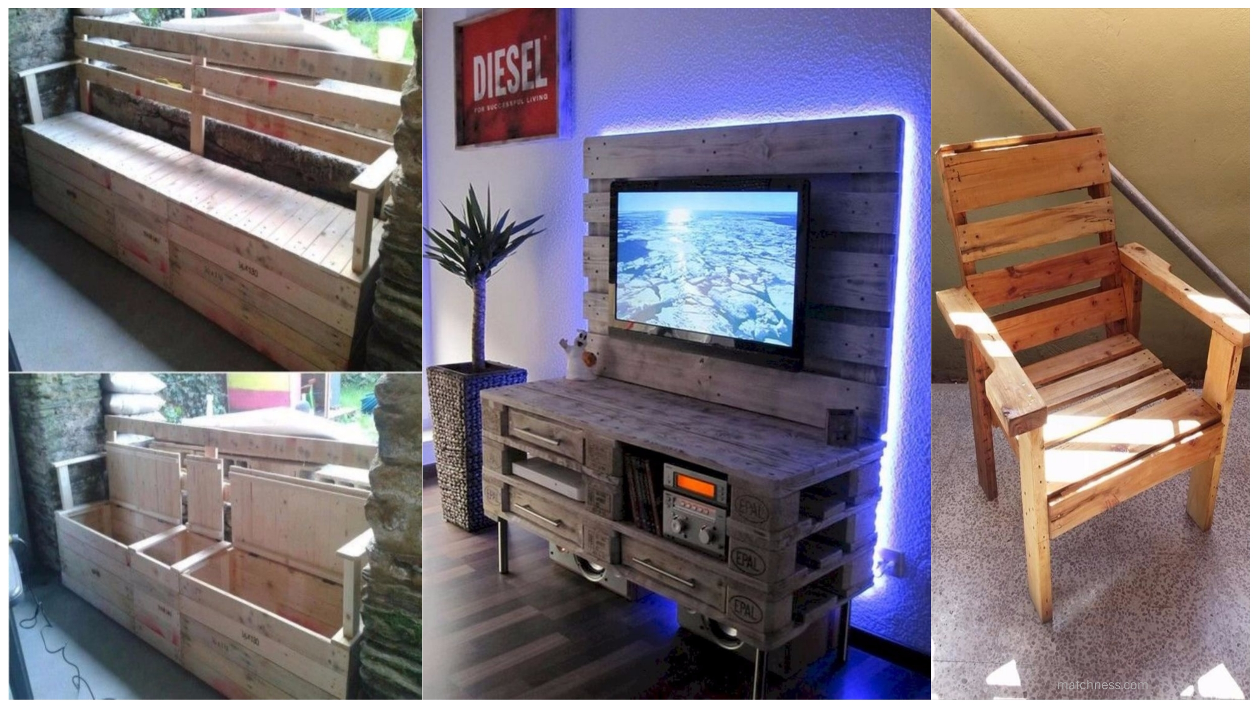 50 easy pallet furniture projects for beginners