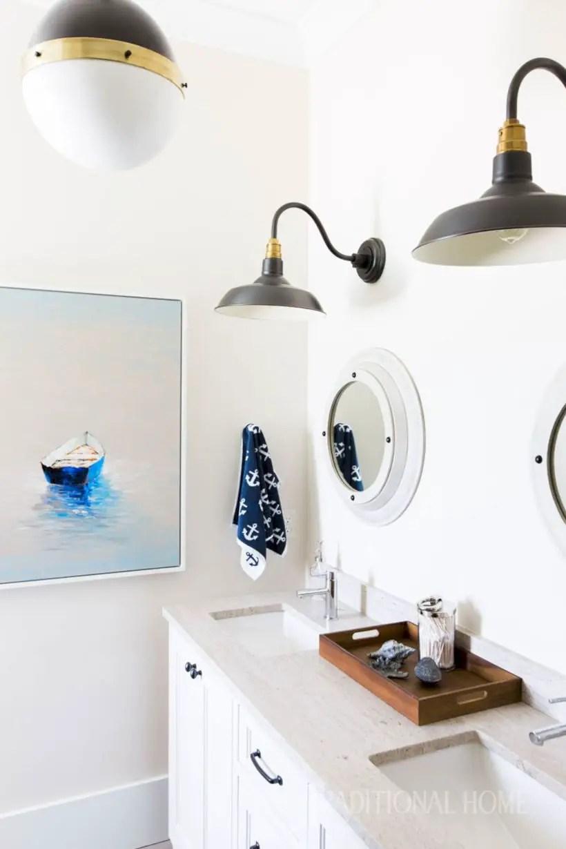Amazing coastal retreat bathroom inspiration 26