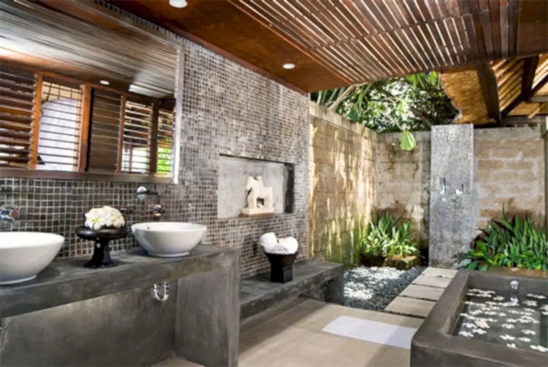 Amazing coastal retreat bathroom inspiration 32