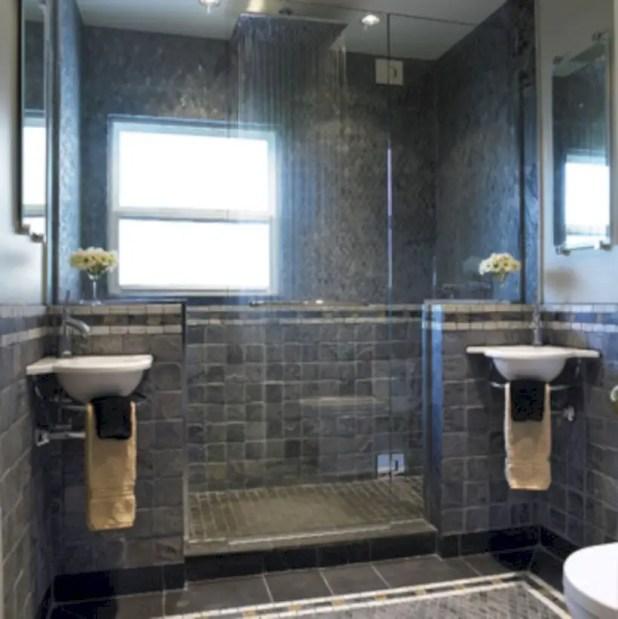 Amazing doorless shower design ideas 03