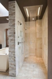 Amazing doorless shower design ideas 07
