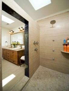Amazing doorless shower design ideas 15