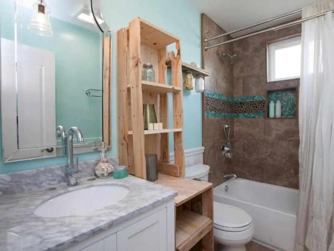 Amazing doorless shower design ideas 16