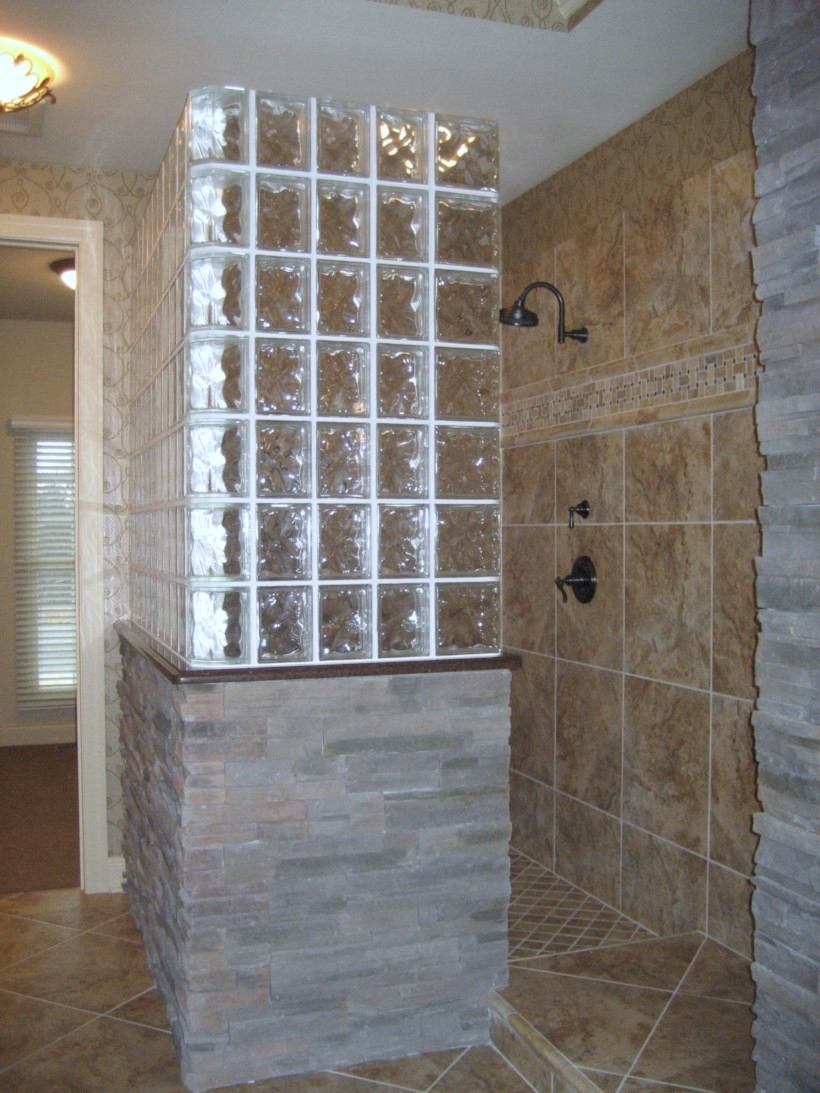 41 Amazing Glass Brick Shower Division Design Ideas ...