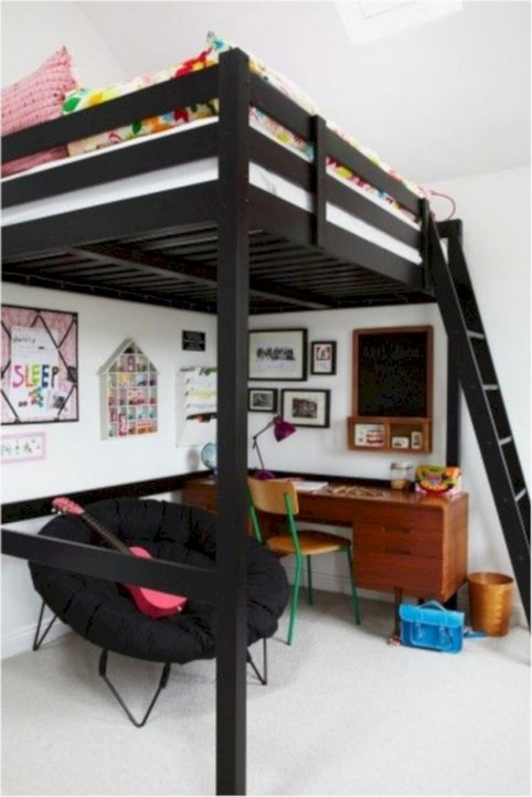 Amazing ikea teenage girl bedroom ideas 25