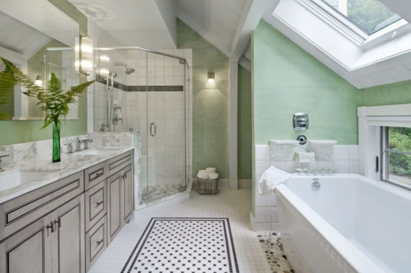 Bathtub and shower tile ideas to beautify your bathroom 31