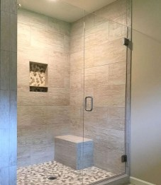 Beautiful bathroom frameless shower glass enclosure 12
