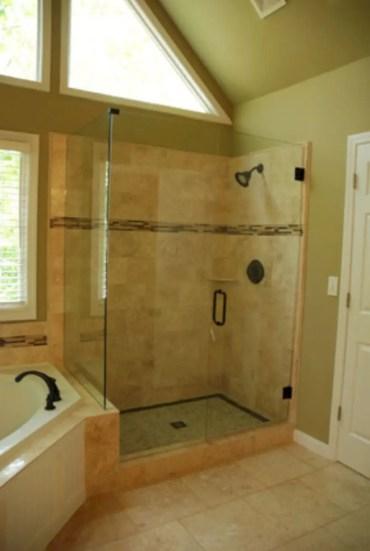Beautiful bathroom frameless shower glass enclosure 31