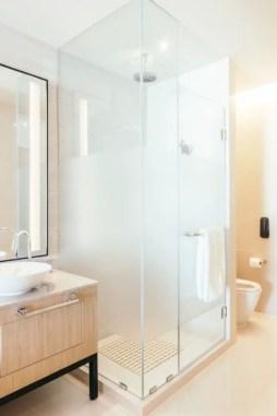Beautiful bathroom frameless shower glass enclosure 43
