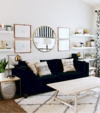 Beautiful living room design ideas with mirror 20