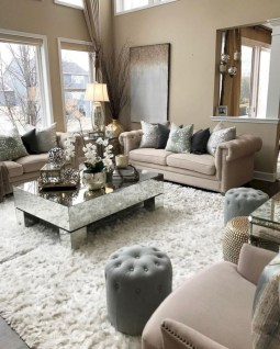 Beautiful living room design ideas with mirror 24