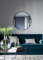 Beautiful living room design ideas with mirror 26