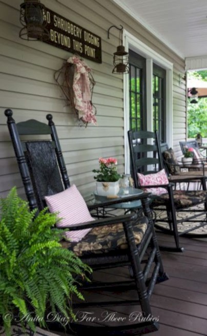 Beautiful porch ideas that will add value your home 09