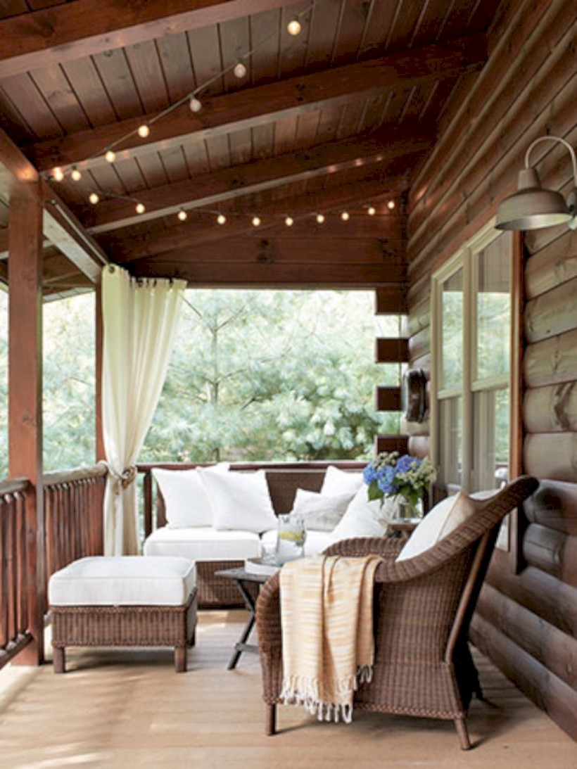 Beautiful porch ideas that will add value your home 39