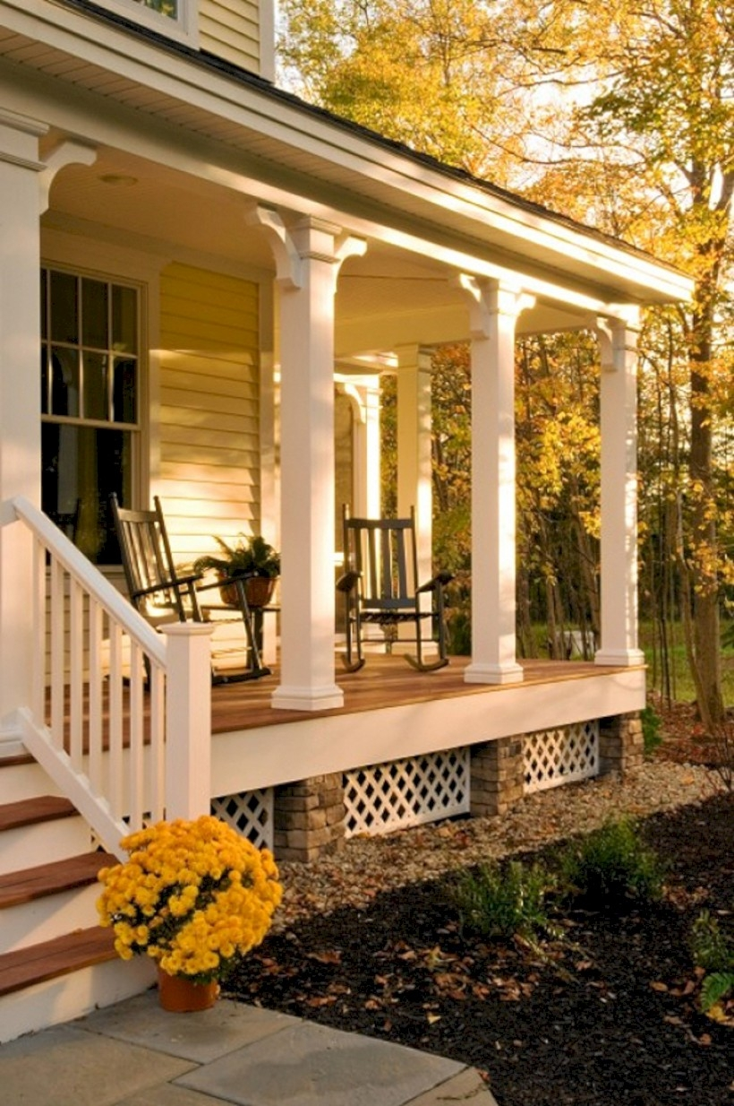 Beautiful porch ideas that will add value your home 40