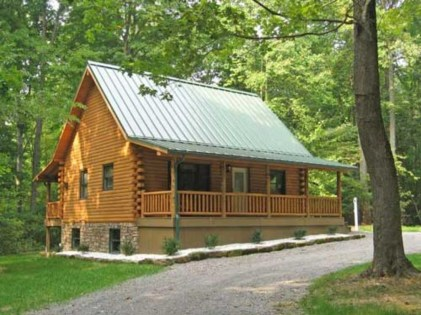 Beautiul log homes ideas to inspire you 07