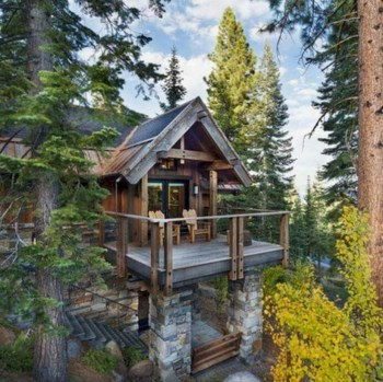 Beautiul log homes ideas to inspire you 10