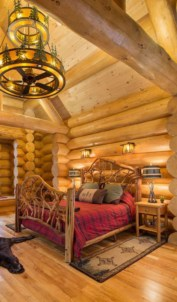 Beautiul log homes ideas to inspire you 23