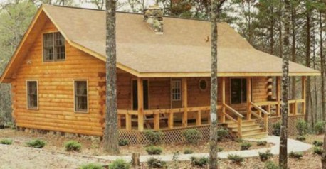 Beautiul log homes ideas to inspire you 34