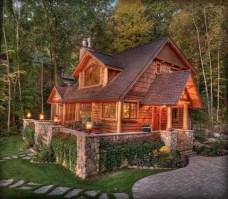 Beautiul log homes ideas to inspire you 42