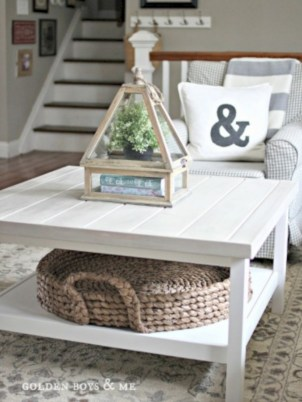 Best chunky farmhouse coffee table 11