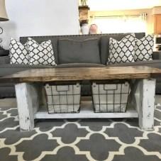 Best chunky farmhouse coffee table 13