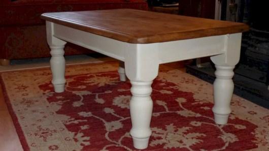 Best chunky farmhouse coffee table 30