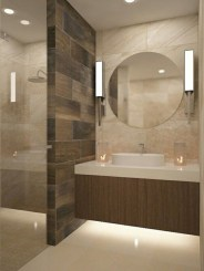 Best classic glass block shower layout 05