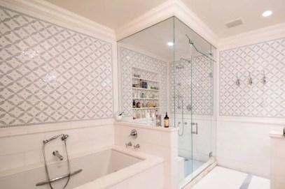 Best classic glass block shower layout 13