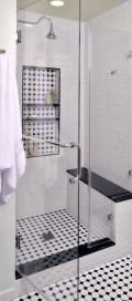 Best classic glass block shower layout 16