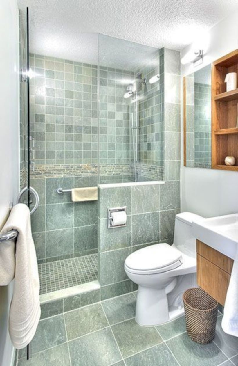 Best classic glass block shower layout 18